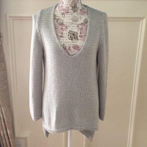 Zara knit hi low sweater